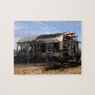 Abandoned House In Kelso California Jigsaw Puzzle
