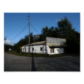Abandoned House In Rural Florida Poster