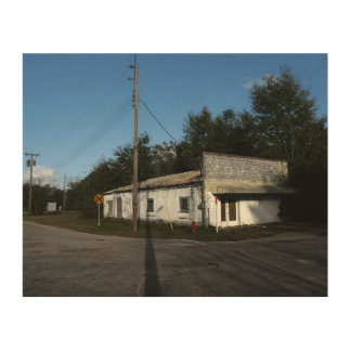 Abandoned House In Rural Florida Wood Wall Decor