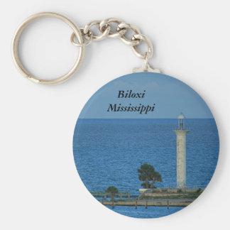 Abandoned Lighthouse Key Ring
