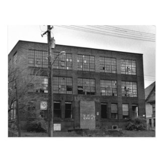 Abandoned Manufacturing Building Postcard