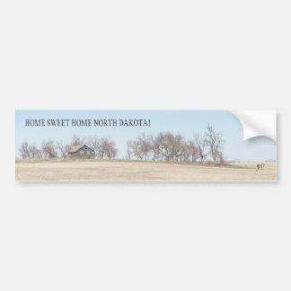 Abandoned Prairie Homestead In North Dakota #3B Bumper Sticker