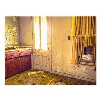 Abandoned Property Photography Print Photograph