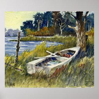 Abandoned Rowboat- poster