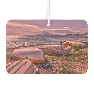 Abandoned Rowing Boats | L'Olla Beach, Altea Car Air Freshener