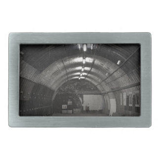 Abandoned Station Rectangular Belt Buckles