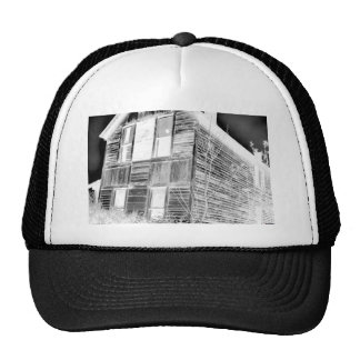 Abandoned Two Story House - negative Cap