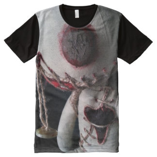 'Abandoned' Voodoo Doll T-Shirt All-Over Print T-Shirt