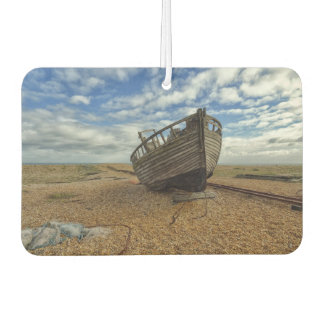 Abandoned Wooden Fishing Boat | Dungeness Car Air Freshener