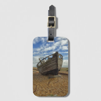 Abandoned Wooden Fishing Boat | Dungeness Luggage Tag