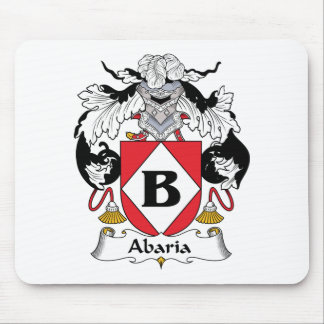 Abaria Family Crest Mouse Pad