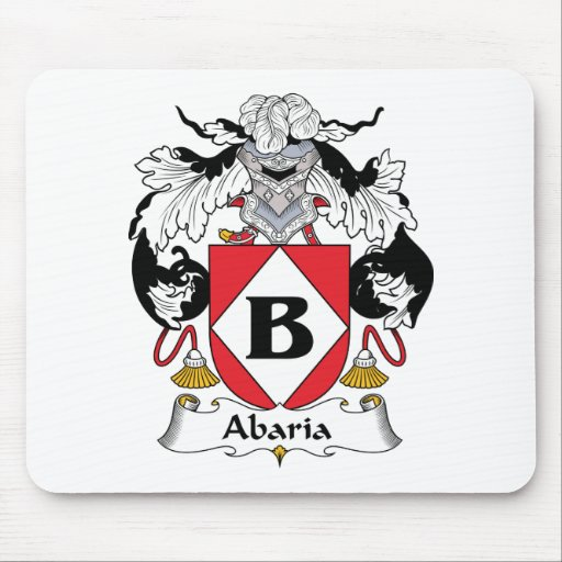 Abaria Family Crest Mouse Pads