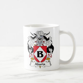 Abaria Family Crest Mugs