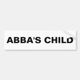 """""""Abba's Child"""" Bumper Sticker"""