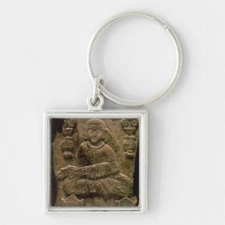 Abbasid Plaque, Iraq or Iran, 12th century (ivory) Key Ring