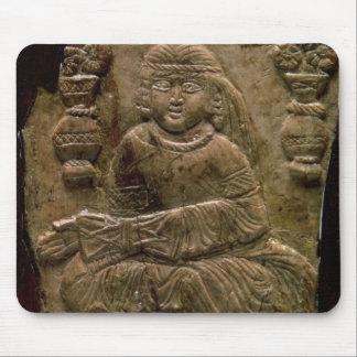 Abbasid Plaque, Iraq or Iran, 12th century (ivory) Mouse Pad