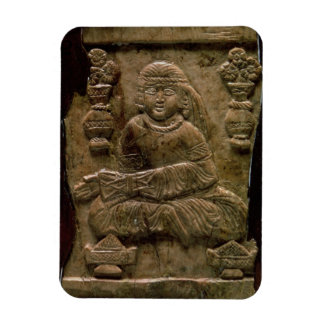 Abbasid Plaque, Iraq or Iran, 12th century (ivory) Rectangular Photo Magnet
