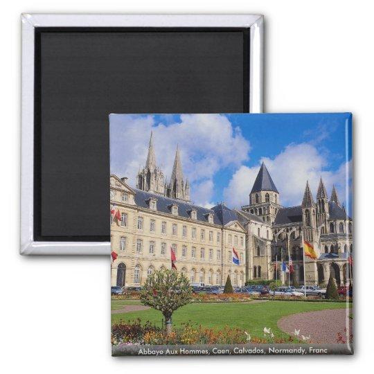 Abbaye Aux Hommes, Caen, Calvados, Normandy, Franc Magnet