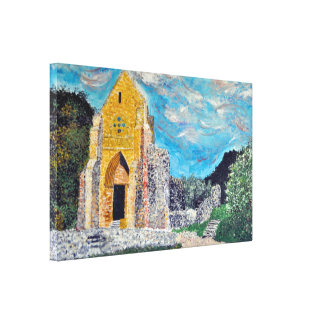 ABBAYE D'AULPS - France Canvas Print