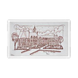 Abbaye de Valloires | Argoules, France Acrylic Tray