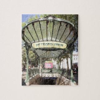 Abbesses Metro, Montmartre, Paris Jigsaw Puzzle