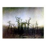 Abbey in an Oak Forest by Caspar David Friedrich