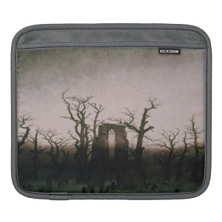 Abbey in the Oakwood, 1810 iPad Sleeves