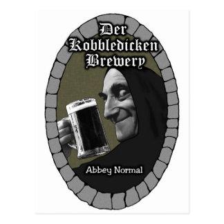 abbey normal postcard