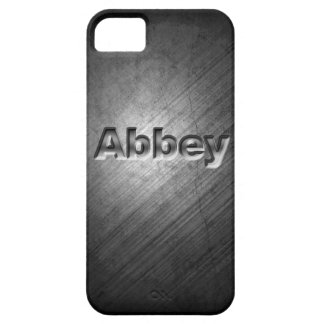 Abbey Personalised Phone Cover iPhone 5 Cases