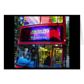 Abbey Road Bus Trip Card