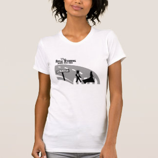Abbey Road Crossing Royal Wedding T Shirts
