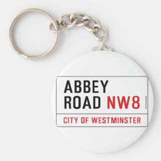 Abbey Road Key Ring