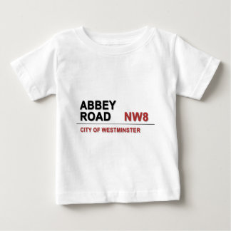 Abbey Road London England - vintage Baby T-Shirt