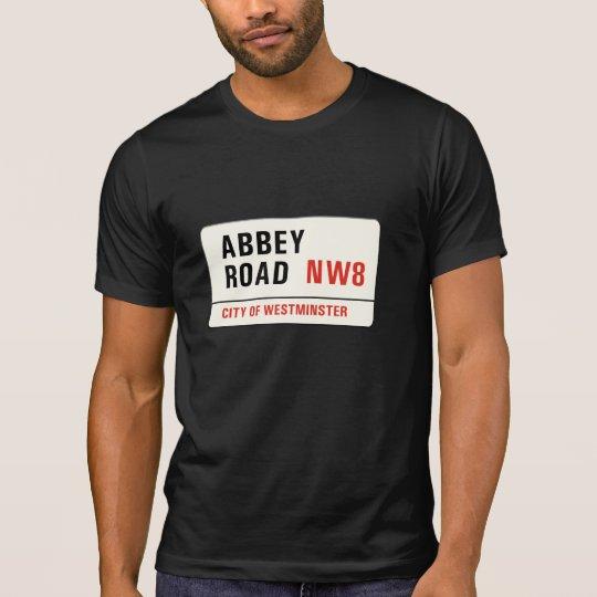 Abbey Road, London Street Sign T-Shirt