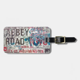 Abbey Road Sign Luggage Tag