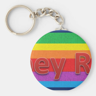 Abbey Road Style 1 Basic Round Button Key Ring