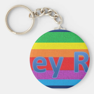 Abbey Road Style 3 Basic Round Button Key Ring