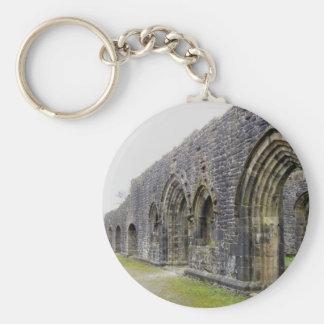 Abbey ruins key chains