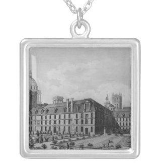 Abbey Saint-Genevieve, Paris Silver Plated Necklace