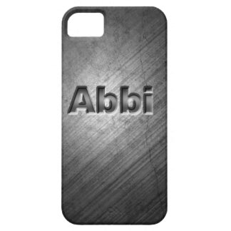Abbi Personalised Phone Cover Case For The iPhone 5