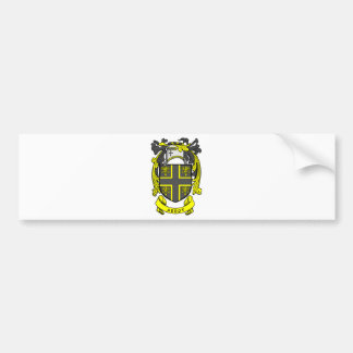 ABBOT Family Crest Bumper Stickers