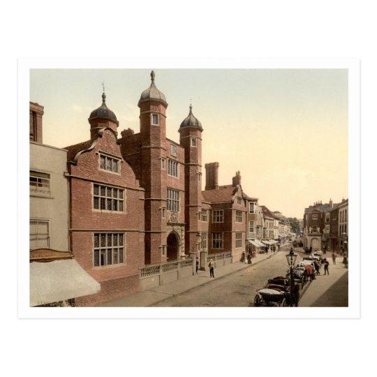 Abbot's Hospital, Guildford, Surrey, England Postcard