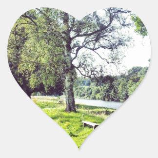 Abbotsford Heart Sticker