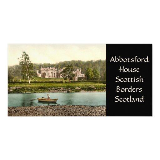 Abbotsford House, Scottish Borders, Scotland Photo Card