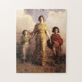 Abbott Handerson Thayer A Virgin puzzle
