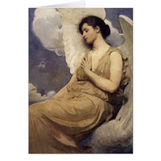 Abbott Handerson Thayer Winged Figure Greeting Card