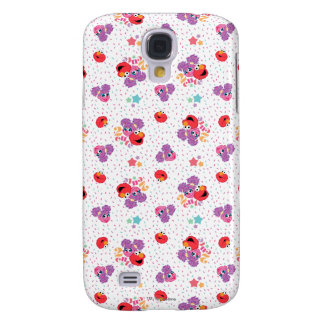 Abby And Elmo 2 Cute Pattern Galaxy S4 Case