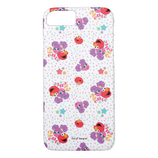 Abby And Elmo 2 Cute Pattern iPhone 8/7 Case