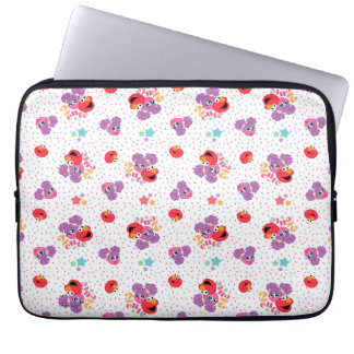 Abby And Elmo 2 Cute Pattern Laptop Sleeve