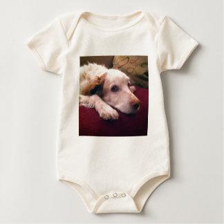Abby Brittany Spaniel Baby Bodysuit